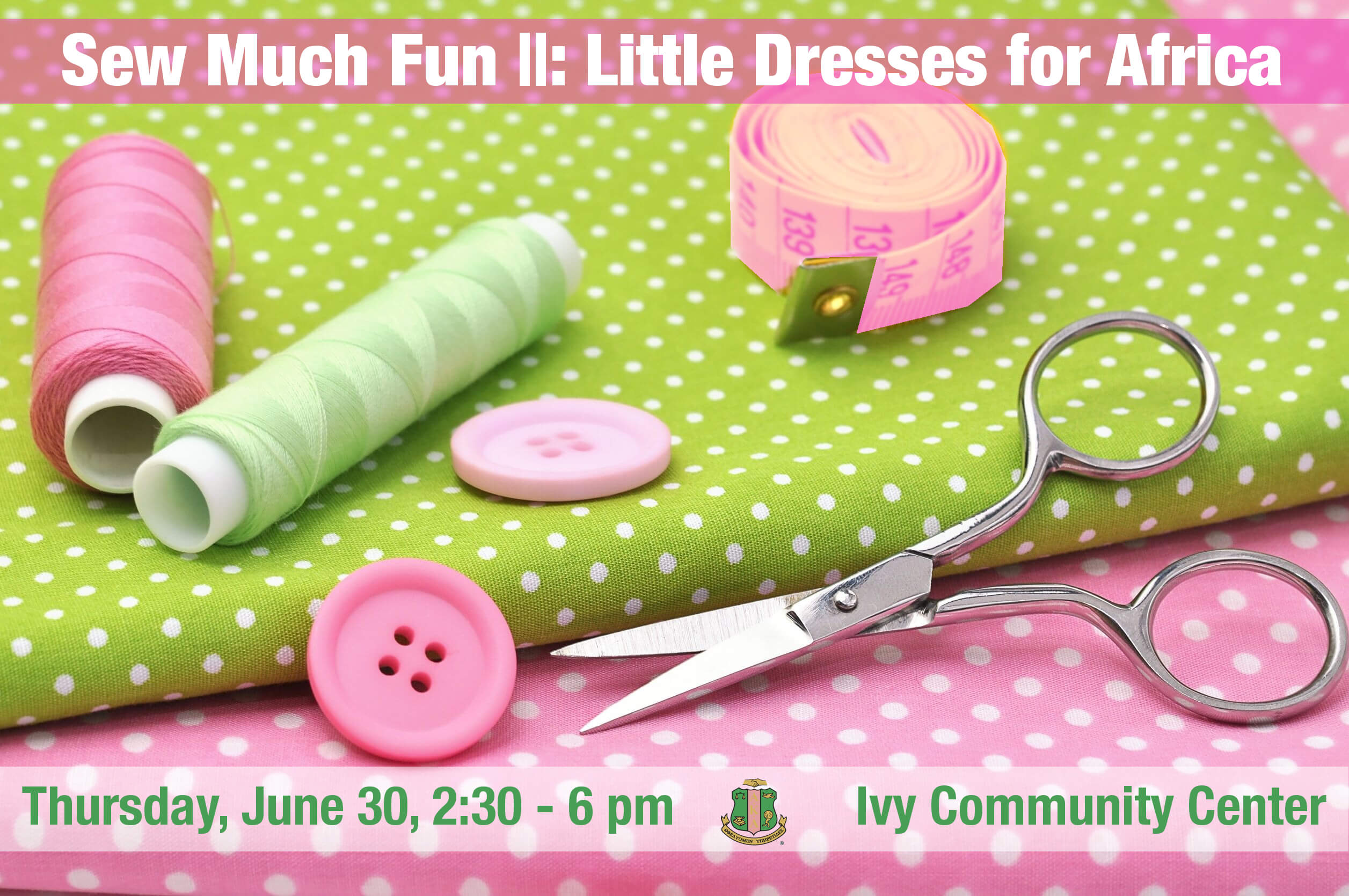 Sew Much Fun: Little Dresses for Africa, Pt. 2